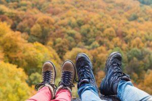 couple enjoying Fall Activities in Ohio