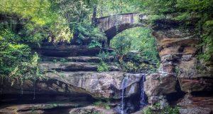 Old Man's Cave Upper Falls