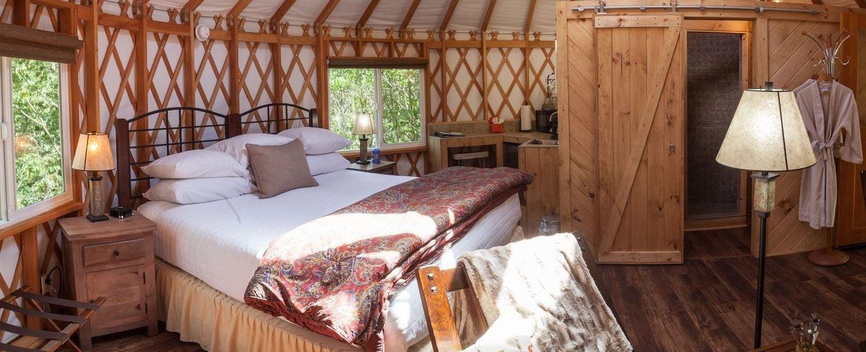 Hocking Hills Yurt