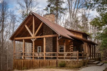 Exterior view of Bear Fork Lodge